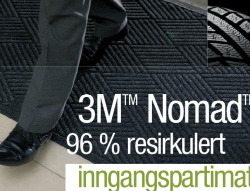3M Nomad 96 % resirkulert inngangspartimatte